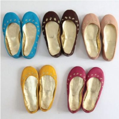 Bargain leather ballet slippers at Home and Kids
