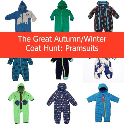 The Great Autumn/Winter Coat Hunt 2013: Pramsuits