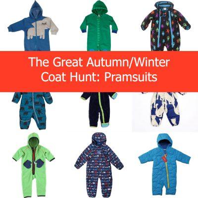 The Great Autumn/Winter Coat Hunt 2013: Pramsuits