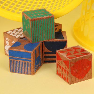 The Poundshop Totem decorative blocks