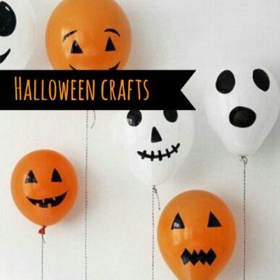 Halloween crafts roundup