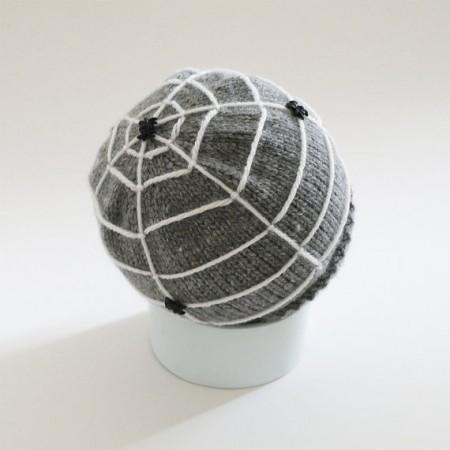 Bedtime Blues spider web hat