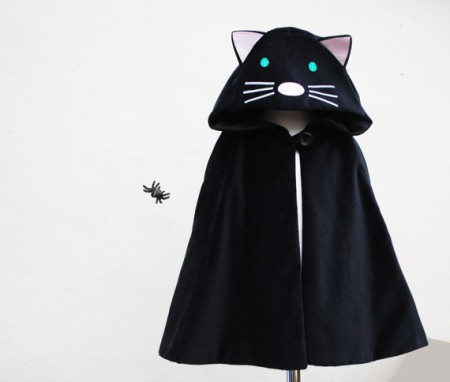 Wild Things Funky Little Dresses cat cape