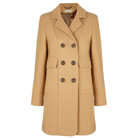 Whistles Camel Coat