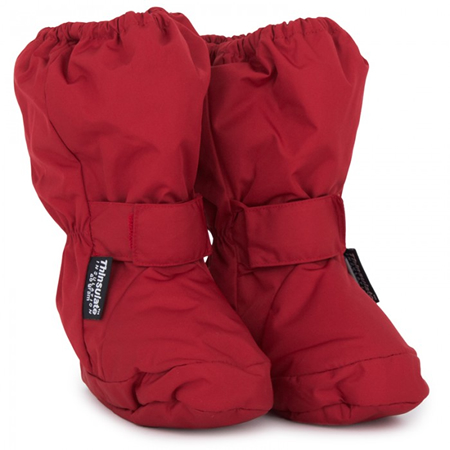 Sterntaler Red Snow Booties