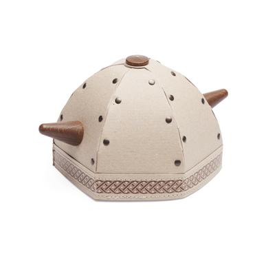 Hedgehog Viking helmet