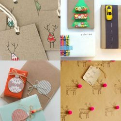 Christmas wrapping ideas on Bambino Goodies