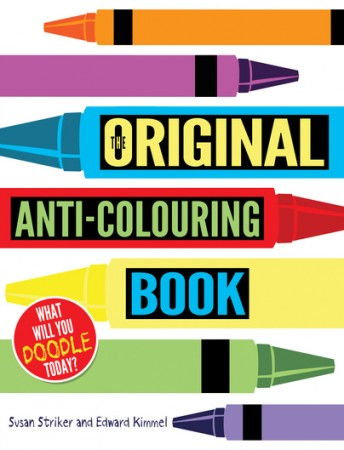 The Original Anti-Colouring Book