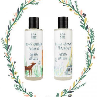 Love Soap children's natural bath products