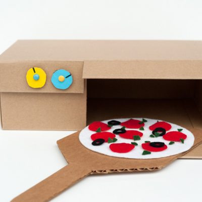 Make Your Own: Shoebox Pizza Oven