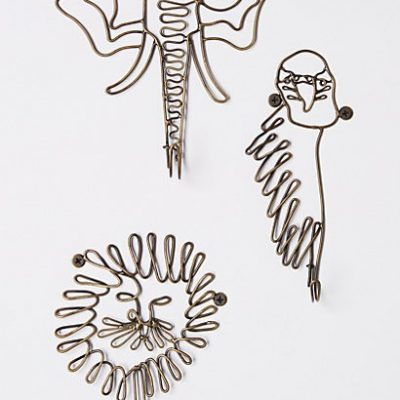 Phyla animal hooks from Anthropologie