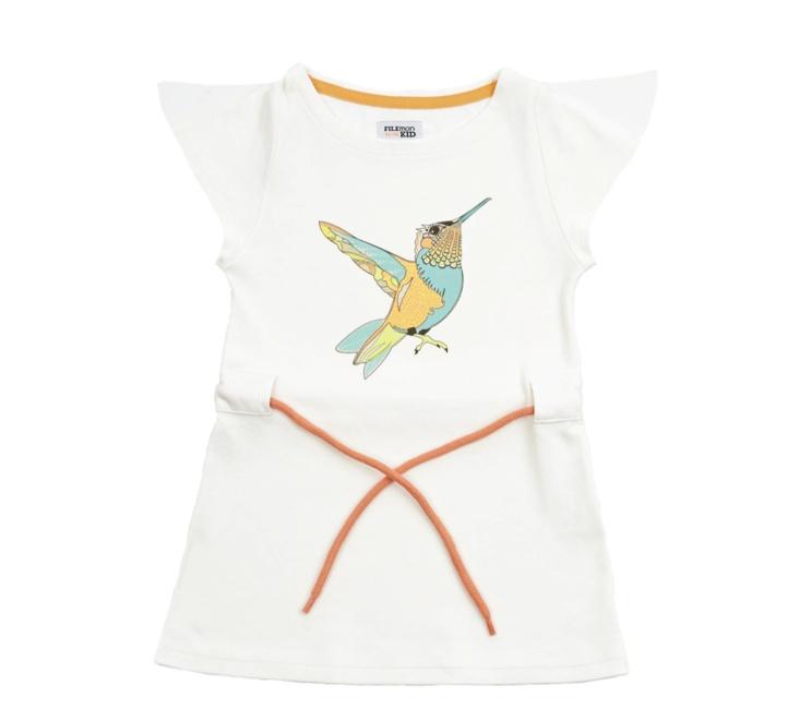 Filemon Kid hummingbird dress