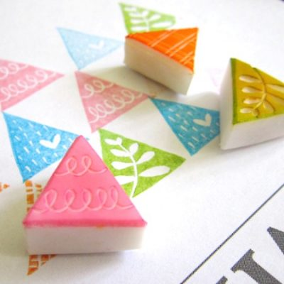 Loufoos rubber stamps