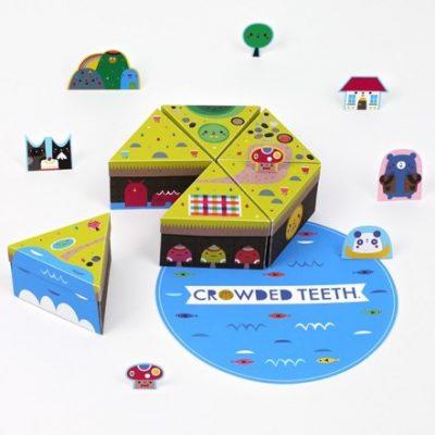 Crowded Teeth paper island