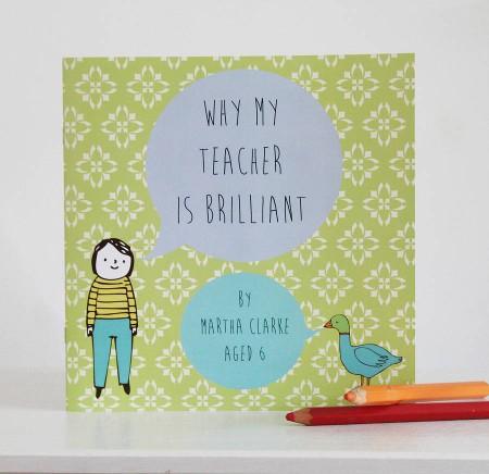 Lou Brown Designs personalised book