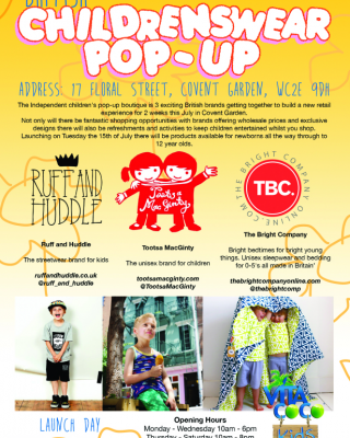 Tootsa MacGinty/The Bright Company/Ruff & Huddle pop-up shop