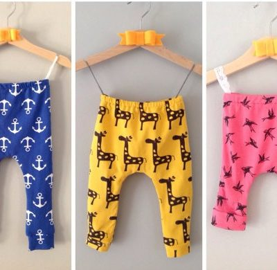 Fred & Noah baby leggings