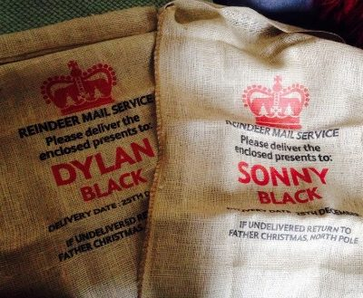 Hot buy of the day: Personalised Santa sacks
