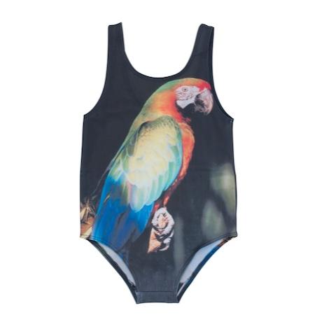 Popupshop parrot swimsuit