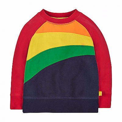 Hot on the high street: Little Bird rainbow sweatshirt