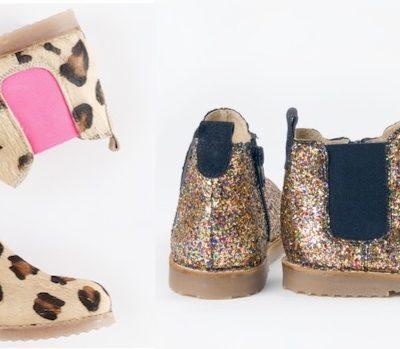 Swoop! Boden's Glitter & Leopard Print Chelsea Boots now 70% off