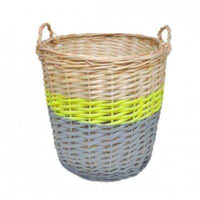 Rose in April storage baskets at Sisters Guild