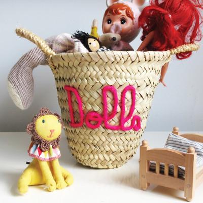 Edit 58 embroidered mini storage baskets