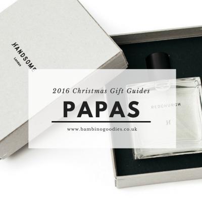 Christmas Gift Guide 2016: Papas