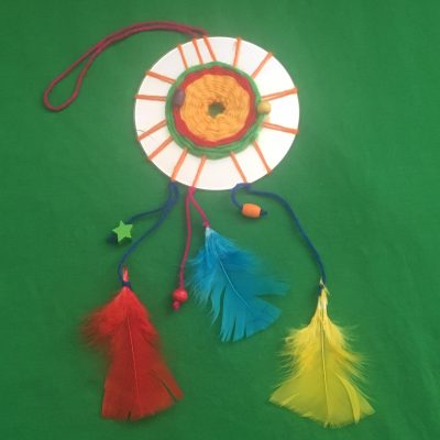 Make Your Own Monday: CD Dreamcatcher