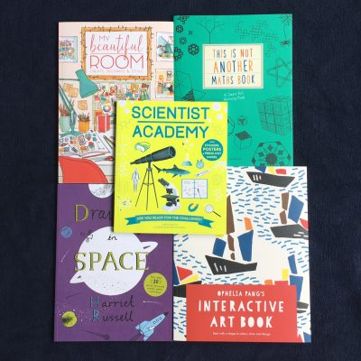 Five Fab… Activity books