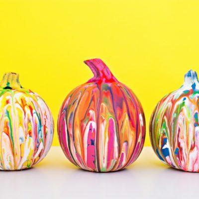 5 Easy (No Carve) Pumpkin Ideas