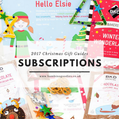Christmas Gift Guide: Subscriptions for Children