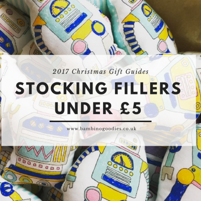 Christmas Gift Guide 2017: Stocking Fillers Under £5 (Part 2)