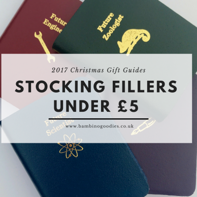 Christmas Gift Guide 2017: Stocking Fillers Under £5 (Part 1)