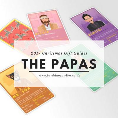 Christmas Gift Guide 2017: The Papas