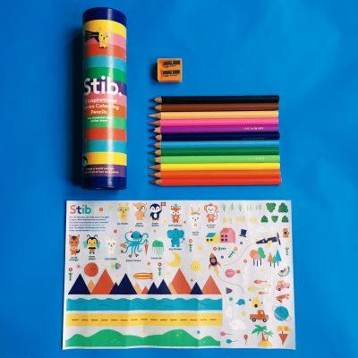 Stib coloured pencils