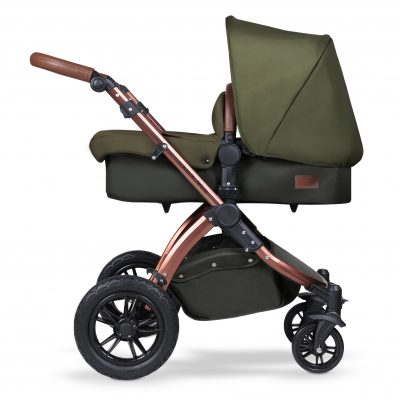 The pushchair track: Woodland Bronze Stomp V4 Special Edition Travel System