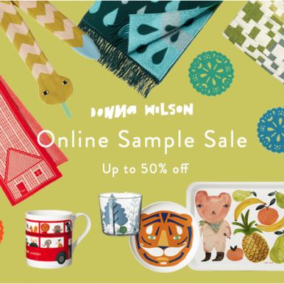Donna Wilson Sample Sale – Starts NOW!