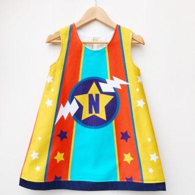 Wild Things Personalised Superhero Dress