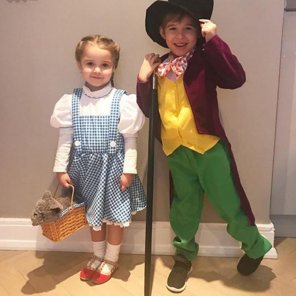 Dorothy & Willy Wonka