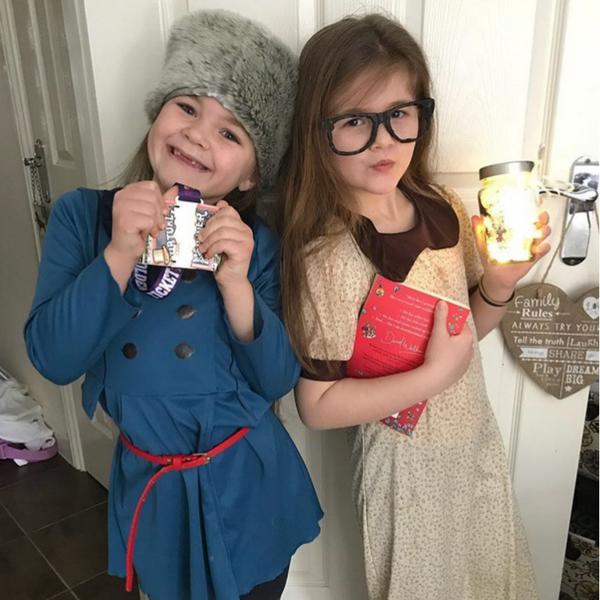 Violet and Sophie