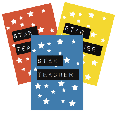 New in store: teacher printable cards