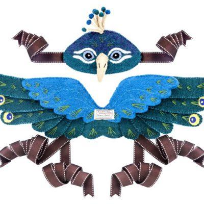 Sew Heart Felt Peacock Dress Up
