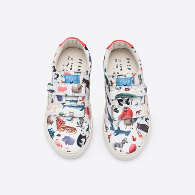 Hot collab: Oliver Jeffers x Veja trainers
