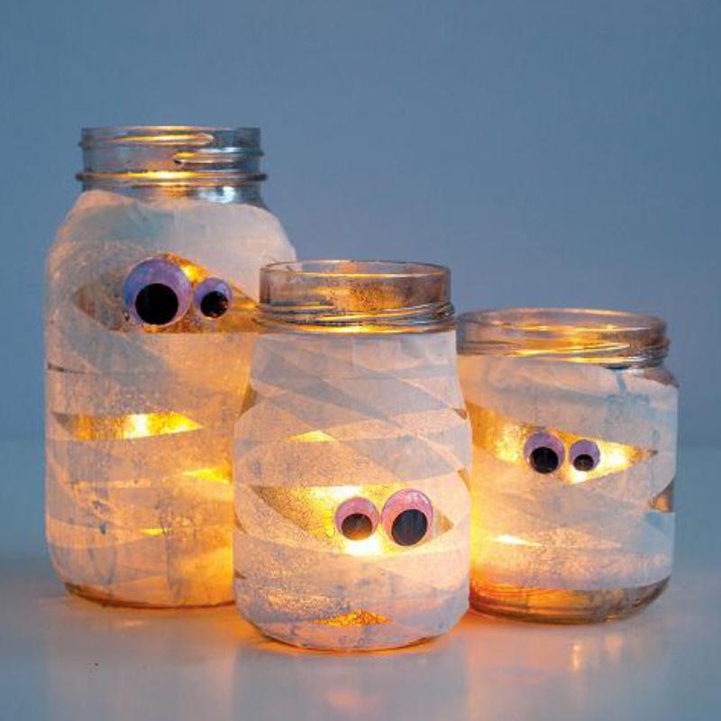 Mummy lanterns