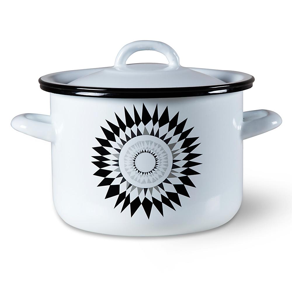 Enamel ISAK cooking dish