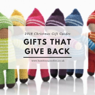 BG Christmas Gift Guide 2018: Gifts that Give Back