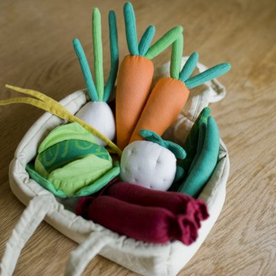 Fairtrade Toy Food Basket