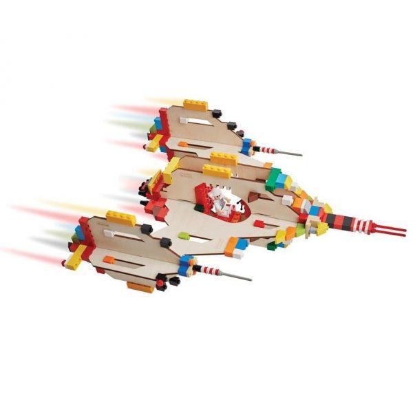 Brikkon Spaceship, £30.96, Crafts 4 Kids.