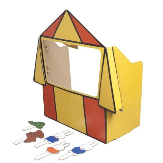 Mister Tody Miffy Puppet Theater, £35, Smallable.